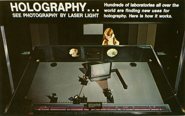 Holography Exhibit, Museum of Science and Industry, Chicago, Illinois