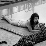 Lana Wood and The Leopard