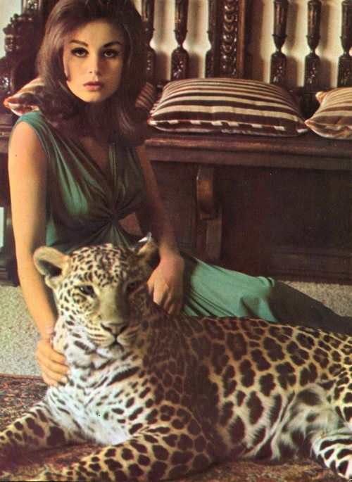 Lana Wood and The Leop...