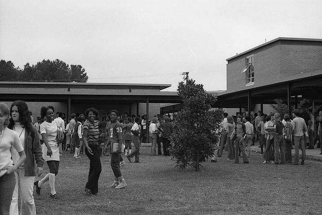 Protesting in 1972