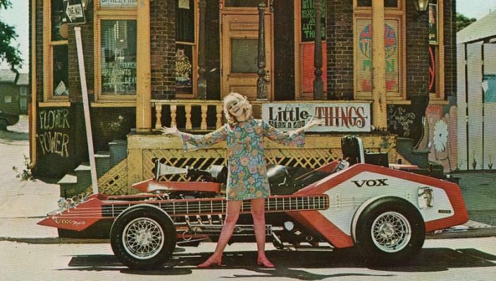 voxmobile bizarre guitar car voices of east anglia. Black Bedroom Furniture Sets. Home Design Ideas