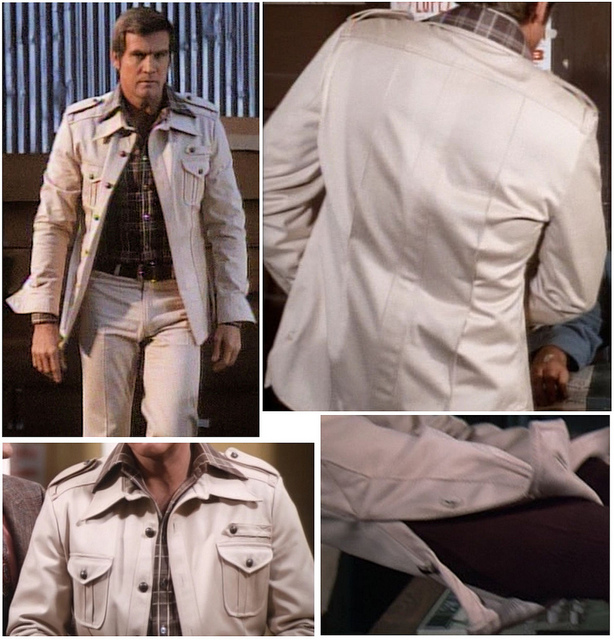 Six Million Dollar Man Safari Suit