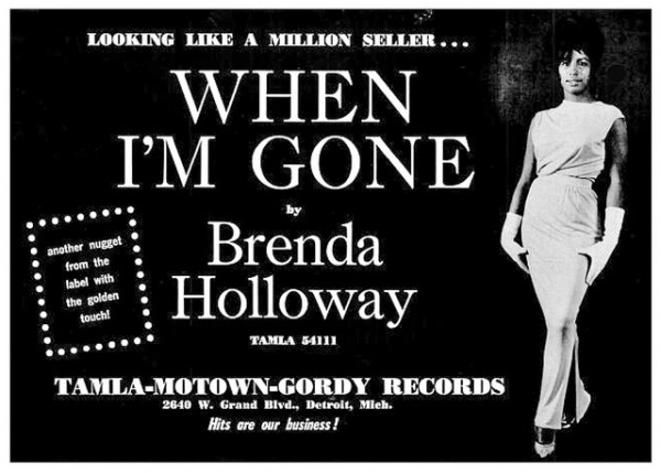 Brenda Holloway - When I'm Gone