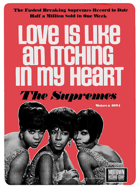 The Supremes - Love is like an Itching in my heart