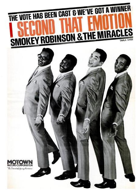 Smokey Robinson and The miracles