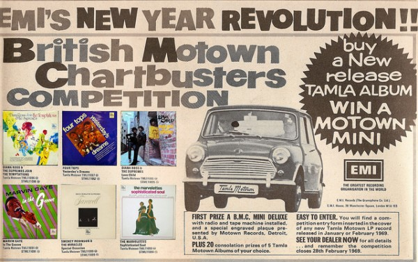 British Motown Advert