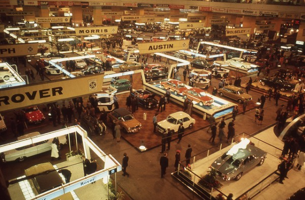 1971 London Car Show