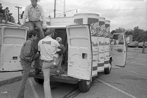 Budweiser Van