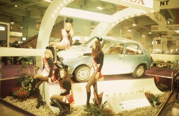 Honda Bunny Girls