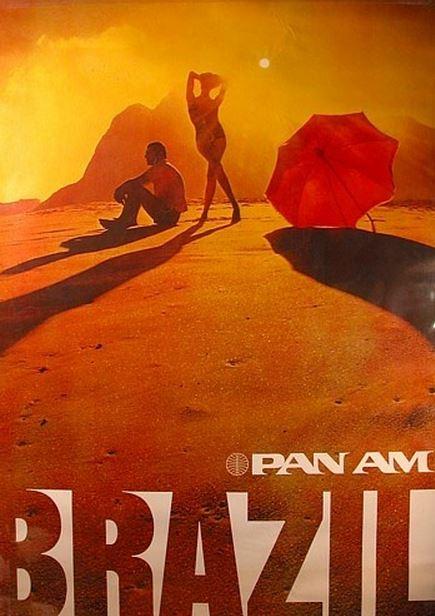 Brazil Pan Am Poster