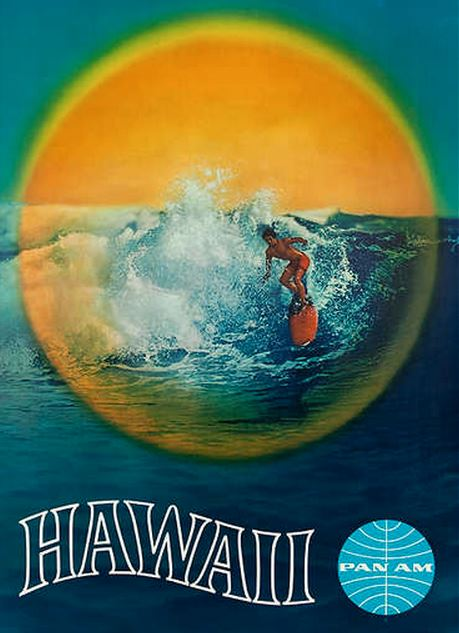 Hawaii Pan Am Poster