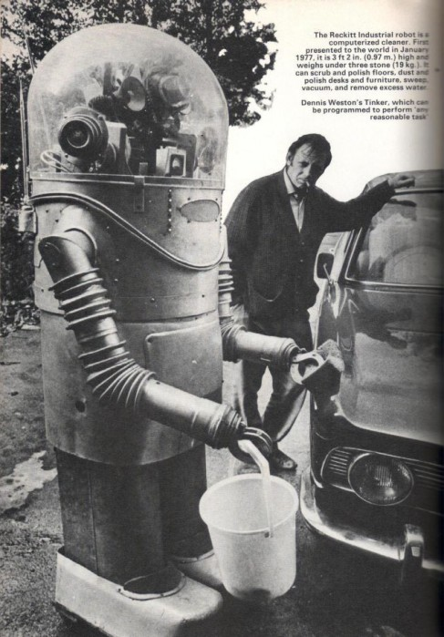 Tinker The Robot 1960s