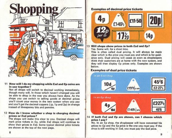 decimal shopping