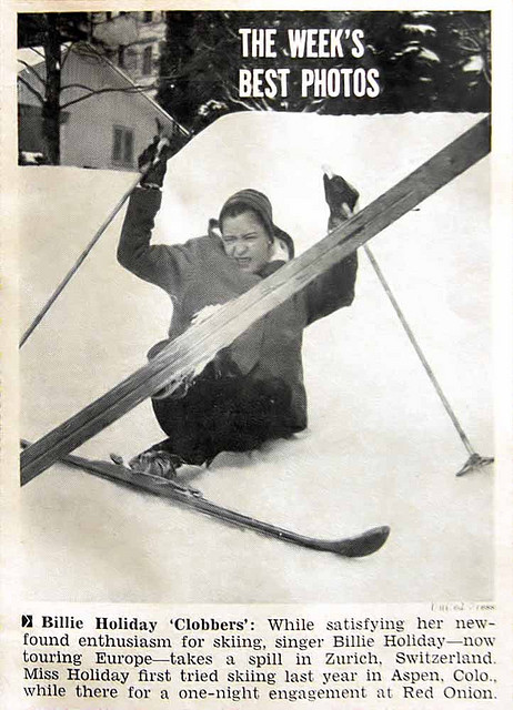 Billie Holiday Skiing