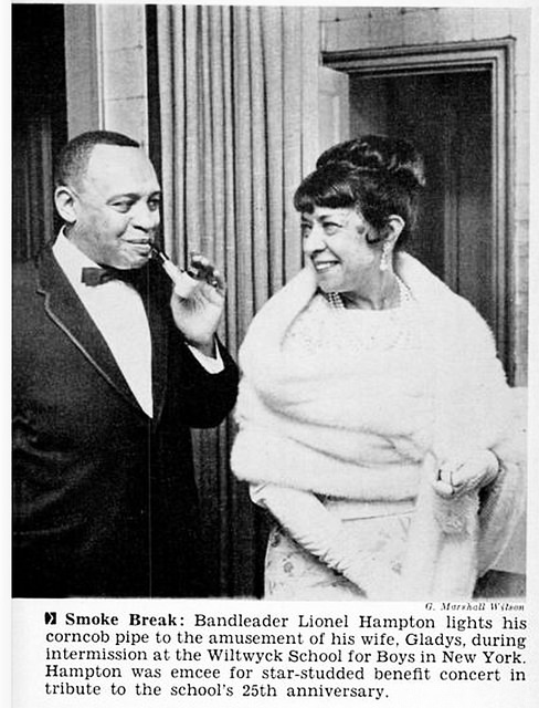 Lionel Hampton and Wife