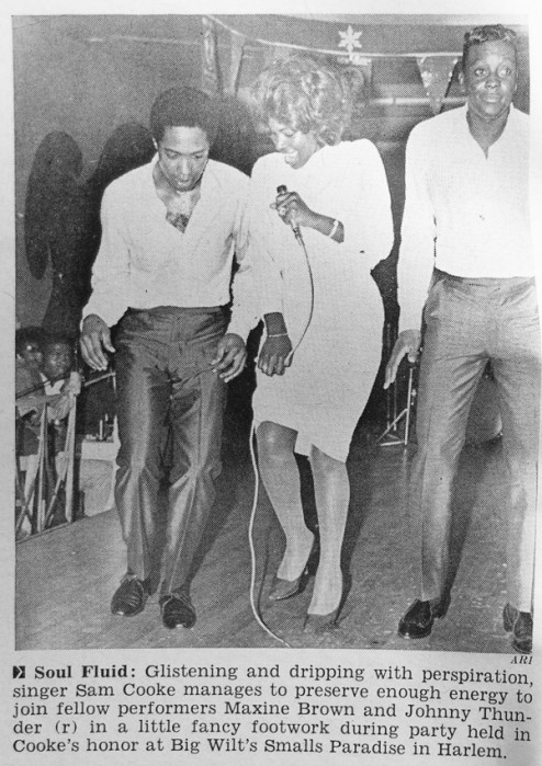 Sam Cooke and Maxine Brown