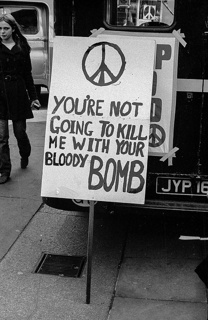 1967 Ban The Bomb London Protest