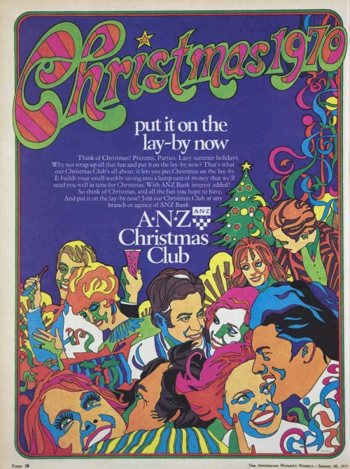 Australian women's Weekly Swinging sixties christmas