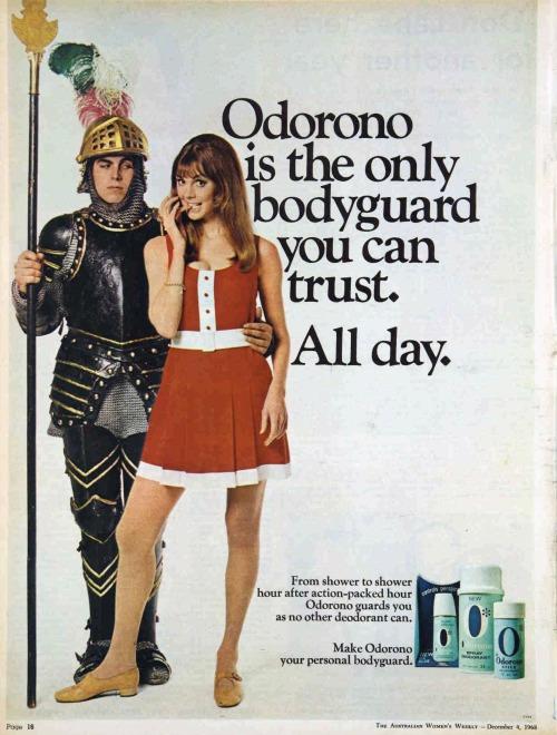 deodorant ad