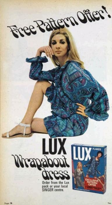 1960s lux dress