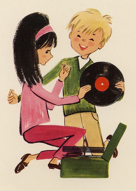 1960s Birthday Card