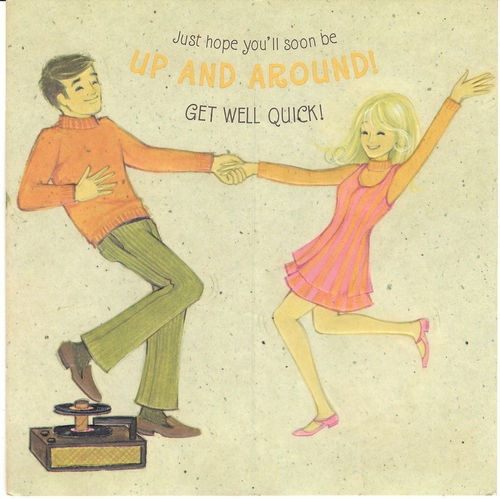 1960s greetings card