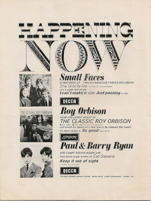 Small Faces Roy Orbison