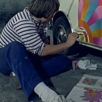 Art on Wheels – Custom Painting Sixties Style