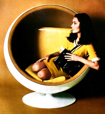 ball chair 1960s