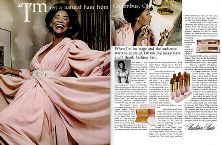 Nancy Wilson Advert