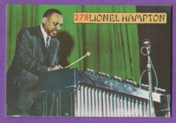 1968 Panini Cards lionel hampton