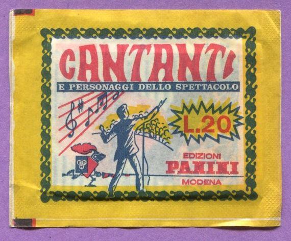 1968 Panini Cards