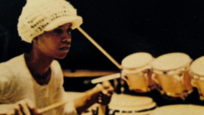Bobbye Hall drummer
