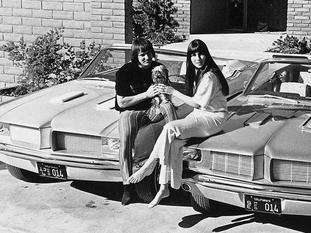 Sonny and Cher Custom Mustangs