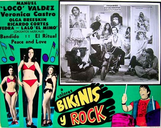 Mexican rock film 1972